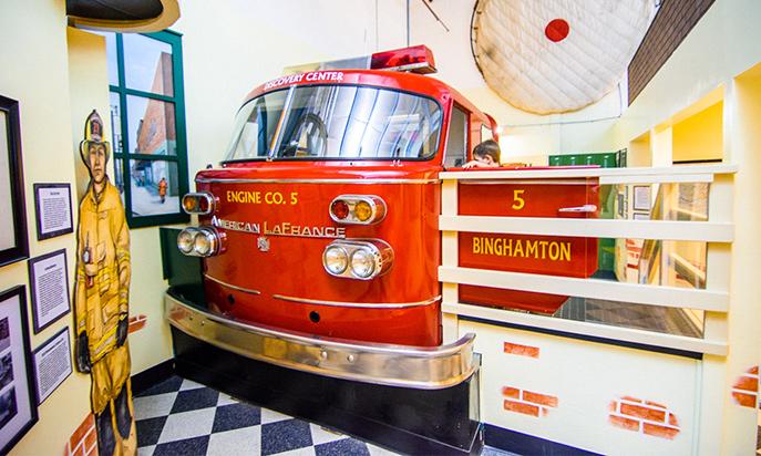 Fire engine co. 5 exhibit
