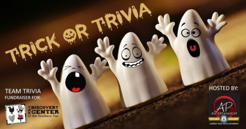 Trick or trivia banner