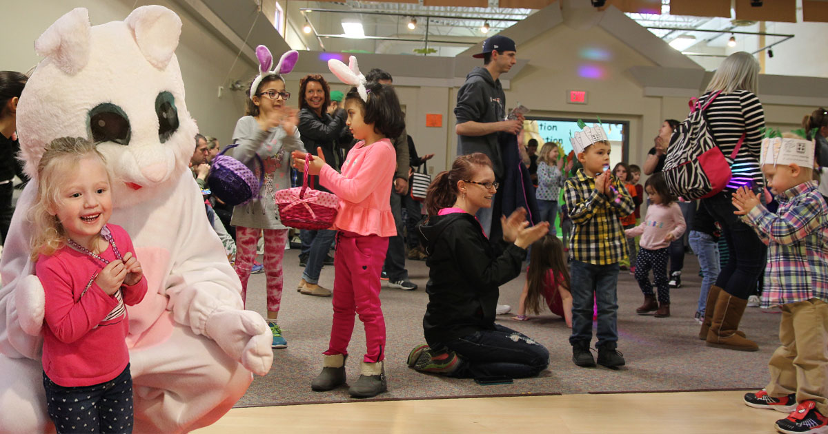 Easter Egg Hunt at The Discovery Center