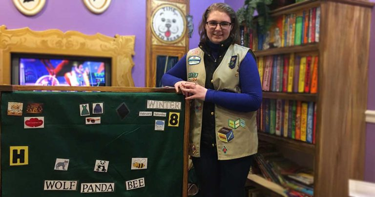 Girl Scout Gifts Education Cart