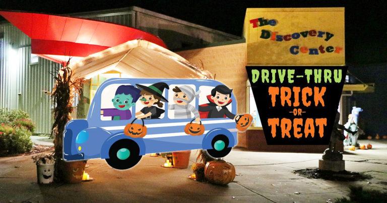 Drive-Thru Trick-Or-Treat
