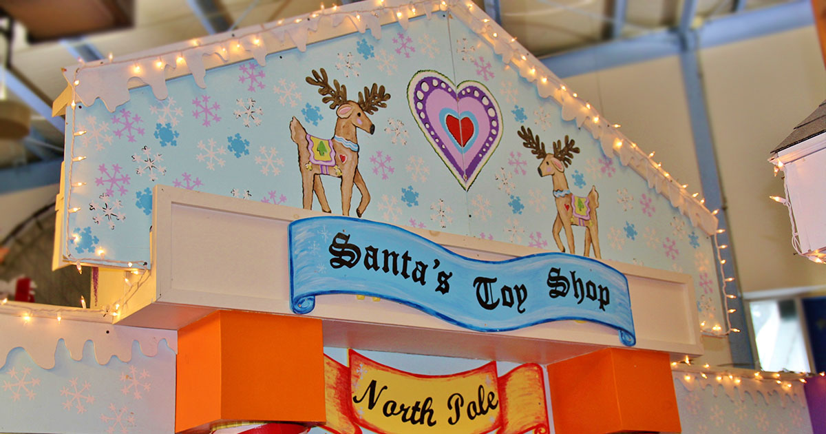 Santa's Toy Shop Exhibit