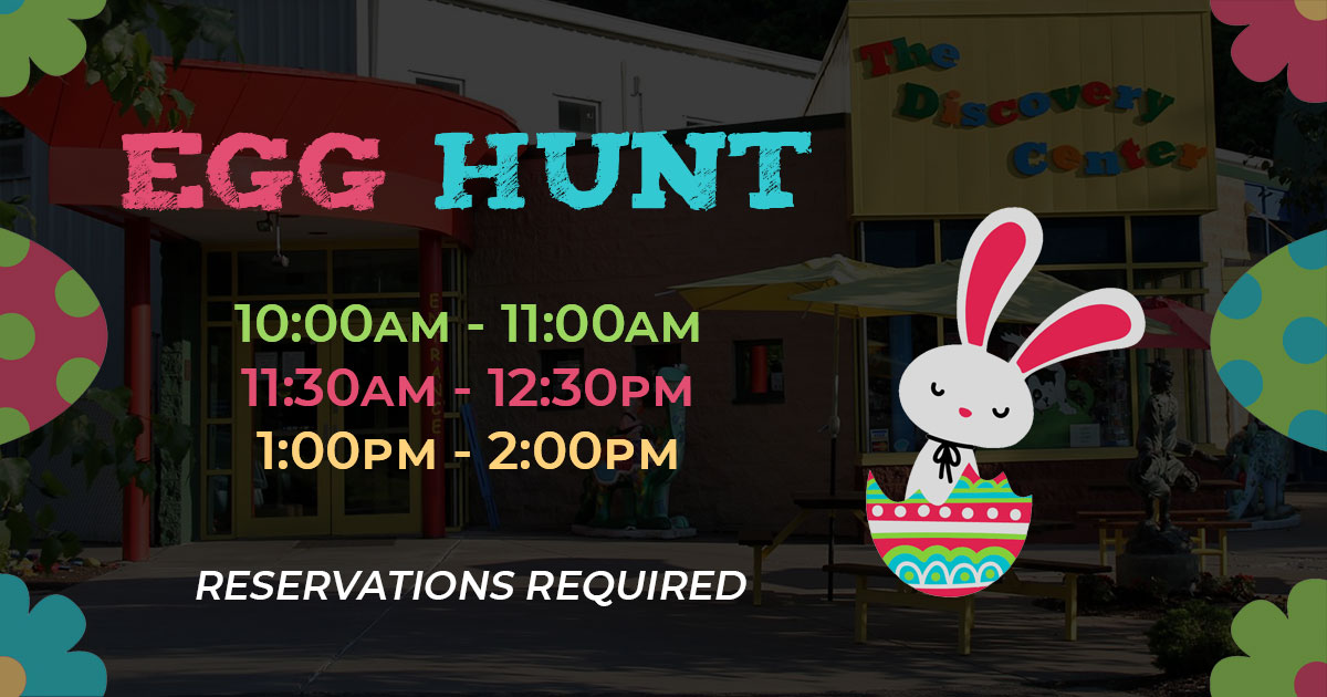 2021 Egg Hunt at The Discovery Center