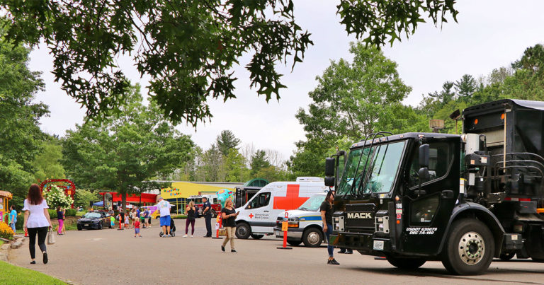 Truck Day at The Discovery Center of the Southern Tier